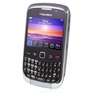 Blackberry Curve 3G schwarz ohne Simlock TOP!