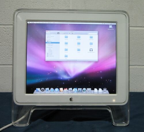 "Apple 17"" LCD Studio Display ADC - M7649- Chrome"