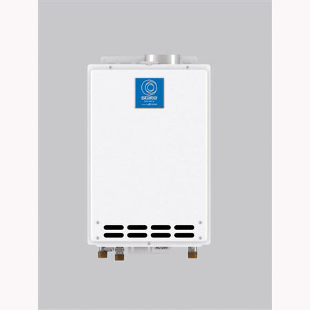 exterior 6 6 gpm tankless natural gas hot water heater ebay. Black Bedroom Furniture Sets. Home Design Ideas