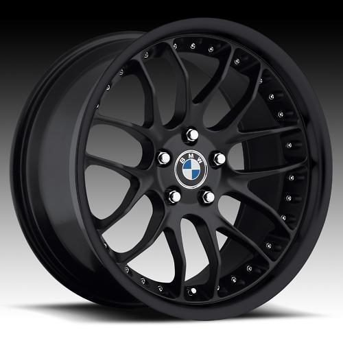 19 MRR GT7 Matt Black Rims Wheels BMW 525 528i 530i 540 545 M5 M3 19x8