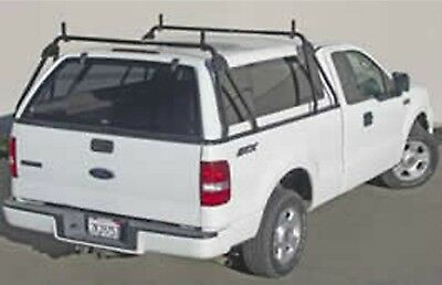 truck cap ladder rack. no drilling. fits toyota tundra and tacoma