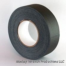 "Black Gaffers Tape 2"" Wide X 60 yrd Roll Gaff on Rummage (1/1)"