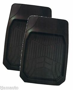 Rubber-Mats-Floor-Mats-2-x-Fronts-4x4-Easy-to-Clean-New