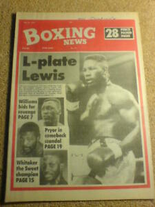 BOXING-NEWS-25-May-1990