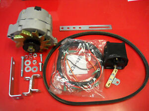 FORD TRACTOR 12V ALTERNATOR CONVERSION KIT 8N 9N 2N FRONT MOUNT DISTRIBUTOR