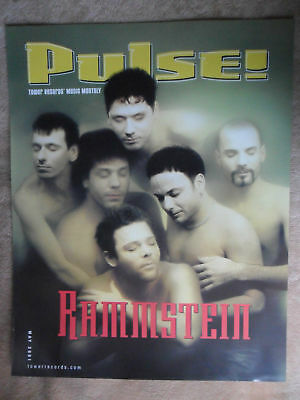 Music Poster Pulse Rammstein 2001