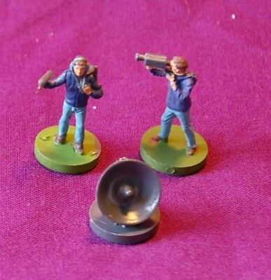 Subbuteo Bbc  Video Camera Soundman Sattelite Dish