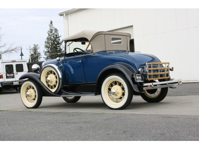 1931 Ford Model A Roadster, Fully Restored, 4-Speed