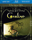 Coraline (Blu-ray/DVD, 2011, 2-Disc Set, Canadian; 3D) (Blu-ray/DVD, 2011)