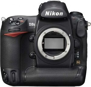 Nikon D3 12.1 MP Digital SLR Camera - Bl...