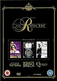 THE ROYAL BOX THE KING039S SPEECH  THE QUEEEN  THE YOUNG VICTORIA DVD BOX SET - basildon, United Kingdom - THE ROYAL BOX THE KING039S SPEECH  THE QUEEEN  THE YOUNG VICTORIA DVD BOX SET - basildon, United Kingdom