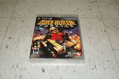 Duke Nukem Forever Playstation 3 Ps3 Sealed
