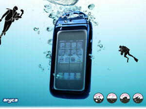 New-Black-WATERPROOF-HARD-CASE-COVER-FOR-APPLE-iPHONE-4-iPhone-4S-USA-seller