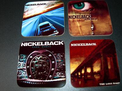 Nickleback Album Cover COASTER Set