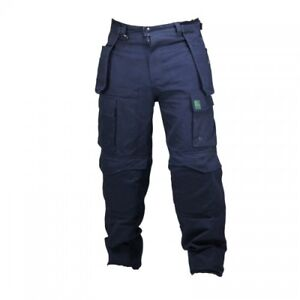 MAK Workwear Cargo Heavy Duty Work Pant Navy Khaki NEW!