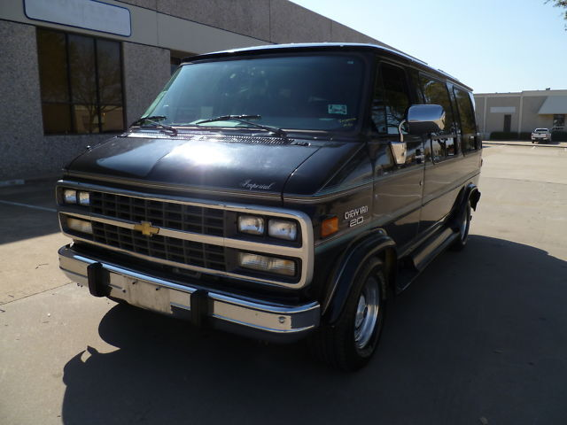 1995 Chevy Imperial Conversion Van: 1-Owner, Low Miles