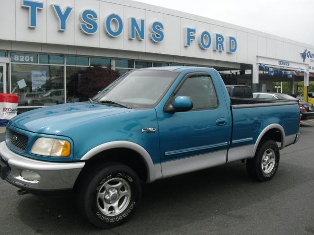 1998 Ford F150 XLT 4x4 Regular Cab Sport Teal 5 Speed