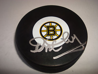 Don Cherry Signed Boston Bruins Hockey Puck PSA/DNA b