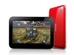 Lenovo IdeaPad K1 16GB, Wi-Fi + 3G (Unlocked), 10.1in - Red & Silver