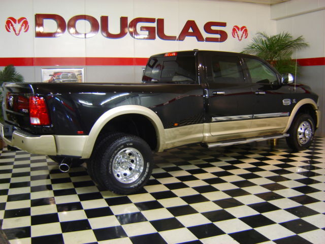2011 RAM LARAMIE LONGHORN LOADED 4X4 3500 CREW CAB