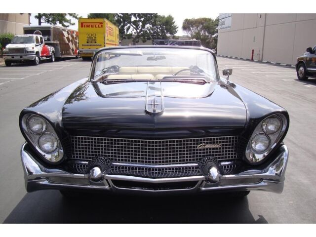 1958 Lincoln Continental Iii California Car Black