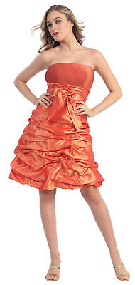 Graduation Bridesmaid Dress & Plus Size Semi Formal Cute Homecoming Dance Party