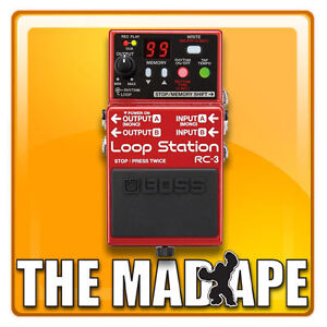 NEW Boss RC-3 Loop Station Looper Pedal FREE SHIPPING!