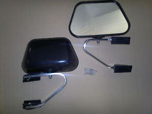 TRAY-BACK-UTE-DOOR-MIRRORS-HILUX-COURIER-TRITON-TRAYTOP