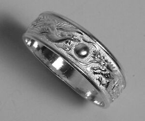 Sterling-Silver-Dragon-Phoenix-Ring-Wedding-Band-7mm