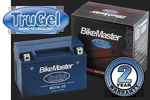 Bike Master Gel Battery Honda Vtx 1800 C/f/n/r/s 2002 2003 2004 2005 2006