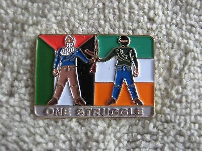 "Palestine/Ireland ""ONE STRUGGLE"" Pin Sinn Fein Celtic"