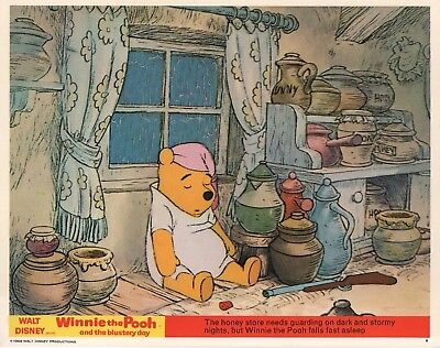 WINNIE THE POOH and the BLUSTERY DAY   lobby print #1 - WALT DISNEY