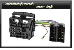 iso radio adapter f r vw rcd 200 rcd 300 rcd 310 510 werks autoradio vw. Black Bedroom Furniture Sets. Home Design Ideas