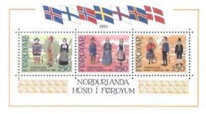 Denmark Faroe 1983 Mi BL 1 ** Folk Costumes Folklore - <span itemprop=availableAtOrFrom> Dabrowa, Polska</span> - Denmark Faroe 1983 Mi BL 1 ** Folk Costumes Folklore -  Dabrowa, Polska