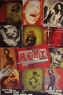 Rent-broadway Musical Poster-london Style a