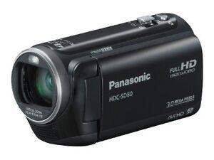 New-Panasonic-HDC-SD40-Full-HD-Camcorder-16-8x-Opt-Zoom-8GB-SD-Memory-Class-4