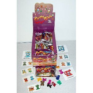 Lot of 36 Packs of Crazy Bones Things Series Toy
