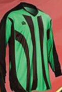 New Admiral BAYERN Youth Small-Large PADDED Soccer GOALIE GOAL JERSEY Shirt Lime