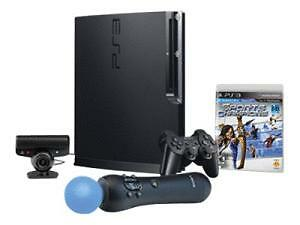 NEW PlayStation 3 - 320 GB System/PlayStation Move Bundle