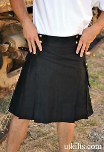 Black-Utility-Modern-Kilt-LOWER-PRICE