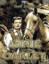 Annie Oakley (DVD, 2006, 4-Disc Set, Box Set)