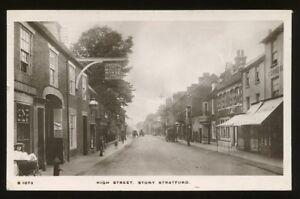 Bucks-STONY-STRATFORD-High-St-1910-RP-PPC