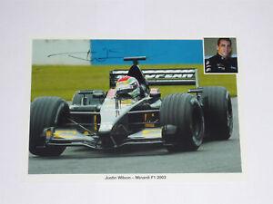 Signed-Justin-Wilson-Minardi-Promo-Card