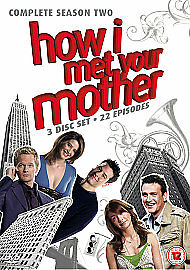 HOW-I-MET-YOUR-MOTHER-Complete-Season-2-DVD-Series-3-Disc-Set-22-Episodes