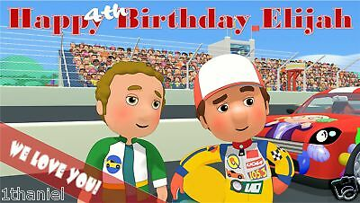Handy Manny Birthday Banner Personalized Custom Design Indoor Outdoor Party
