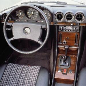 Mercedes benz 350sl 450sl 500sl 1973 1978 dash trim kit ebay for Mercedes benz 450sl interior parts