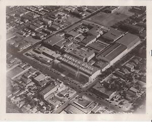 Original-1930-Warner-Brothers-Studios-Aerial-Photograph