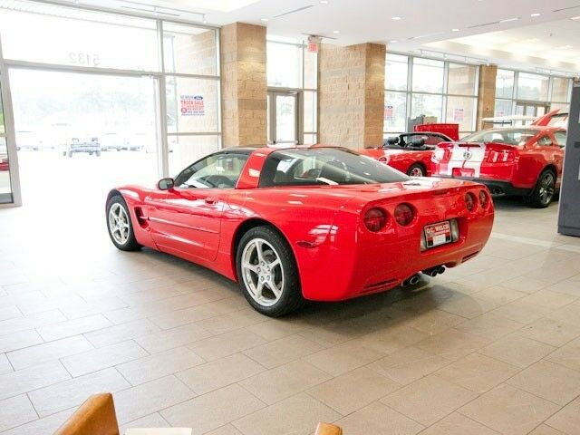 used red 2001 chevrolet corvette for sale in 4920 independence blvd. Black Bedroom Furniture Sets. Home Design Ideas