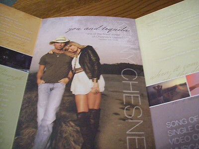 Kenny Chesney 2011 CMA Awards Foldout Voter Request