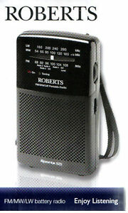 Roberts-Sports-925-FM-MW-LW-Portable-3-Band-Battery-Radio-BRAND-NEW